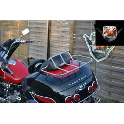 HONDA VALKYRIE 1500 Хромированный багажник на топкейс (центральный кофр)